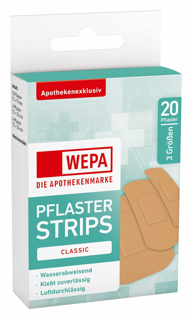WEPA Pflaster Strips Classic