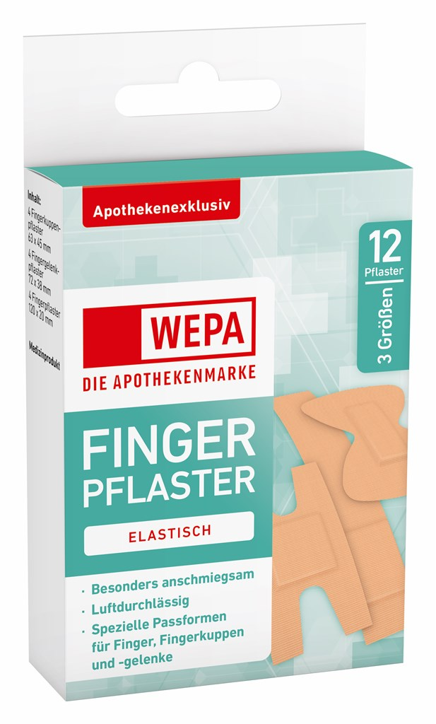 <p>WEPA Fingerpflaster-Mix</p>
