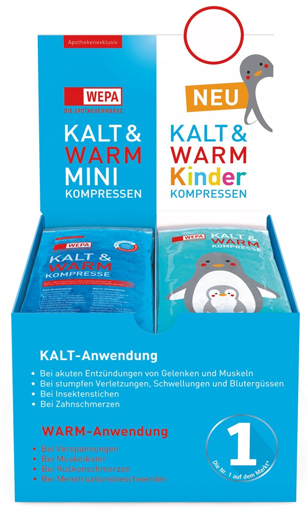 <p>WEPA Kalt &amp; Warm HV-Display Mini &amp; Kinder</p>
