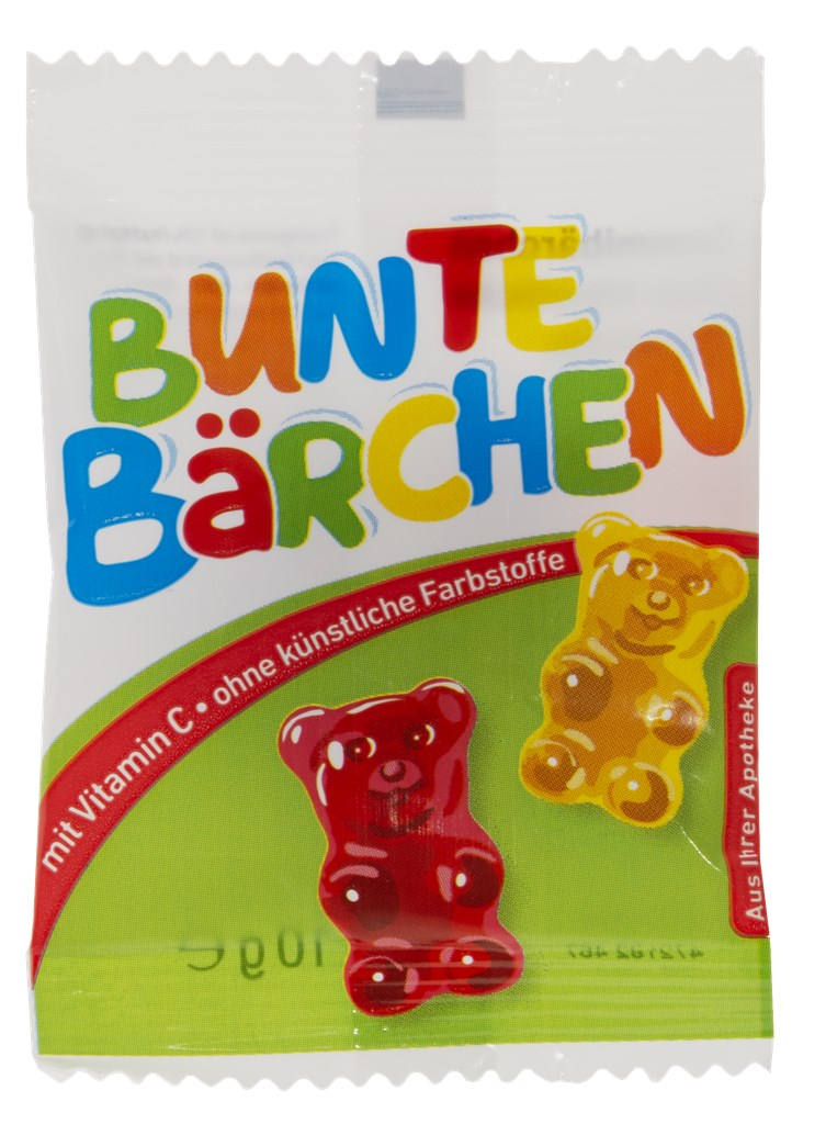 Bunte Bärchen Beutel 10 g neutral