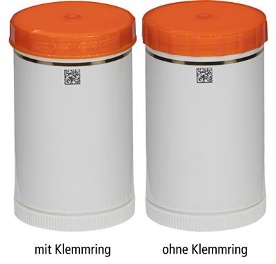 TOPITEC® Kruke 150 g/185 ml, orange/Kosmetik