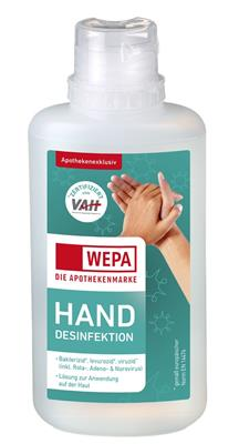 <p>WEPA Hand-Desinfektion 125 ml</p>