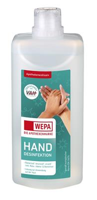 <p>WEPA Hand-Desinfektion 500 ml</p>