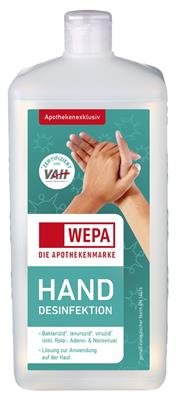 <p>WEPA Hand-Desinfektion 1.000 ml</p>