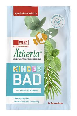 <p>Ätheria<sup>®</sup> Kinderbad Portionsbeutel à 20 ml</p>