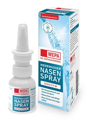 <p>WEPA Meerwasser Nasenspray sensitiv+ HV-Display</p>
