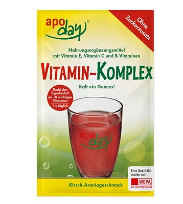<p>apoday<sup>®</sup> Vitamin-Komplex Portionsbeutel</p>