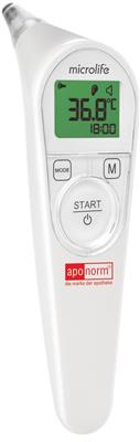 <p>aponorm<sup>®</sup> Ohrthermometer Comfort 4S (mit Schutzkappen)</p>