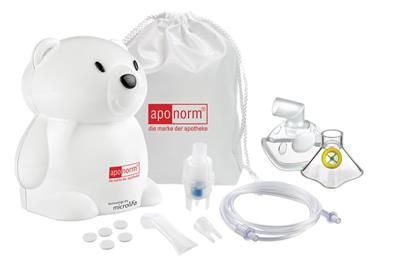 <p>aponorm<sup>®</sup> Inhalator Compact KIDS</p>