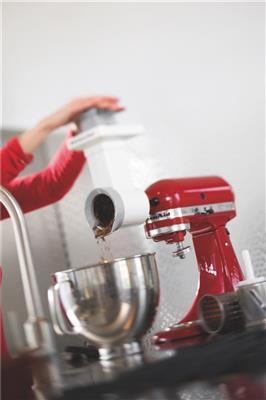 <p>KitchenAid – Die Kultmaschine rot</p>